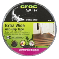 Croc Grip 100mm x 8m Black Anti Slip Tape