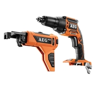AEG 18V Brushless Collated Screwdriver - Skin Only
