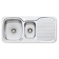 Oliveri Lakeland 1 Taphole Single Bowl Sink
