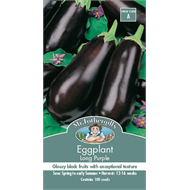 Mr Fothergill's  Long Purple Eggplant Vegetable Seeds