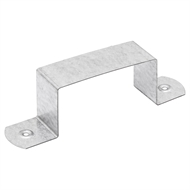 Fielders 100 x 50mm Zinc Square Downpipe Clip