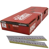 Senco 38mm x 1.75g Galvanised Collated DA Brad Nails - 3000 Pack