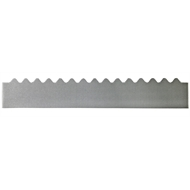 GumLeaf 1200mm Colorbond Metal Corrugated Gutter Guard - Galvanised
