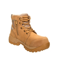 Rossi Women's Wheat 765 Alloy Safety Boot - Size 6