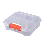 Tactix 6 Compartment Storage Box