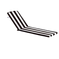 Mojo Striped Tropez Sunlounge Outdoor Comfort Cushion