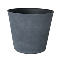 Lotus 31 x 28cm Medium Dark Grey Sara Pot