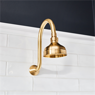 Mondella WELS 3 Star 9L/min Brass Maestro Lever Handle Shower Set