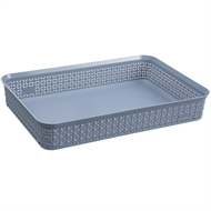 Ezy Storage A4 Mode Stacking Tray - Dusty Blue