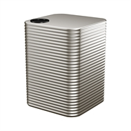 Kingspan 5000L Square Steel Water Tank - 1700mm x 2020mm x 1700mm Dune