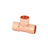 Kinetic 20 x 20 x 20mm Copper Capillary Tee