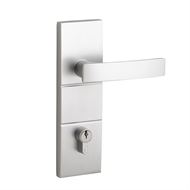 Lane Security Brushed Satin Chrome Indigo Single Cylinder Entry Lockset