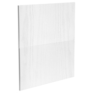 Kaboodle 600mm Provincial White Modern 2 Drawer Panels