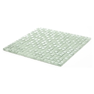 Decor8 298 x 298 x 8mm Silver Foil Glass Mosaic Tile - Per Sheet