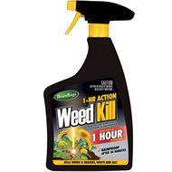 Brunnings 1-HR RTU 1L Action Weed Kill