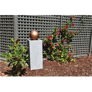 Northcote Pottery 30 x 30 x 90cm Water Magic Pallo Fountain