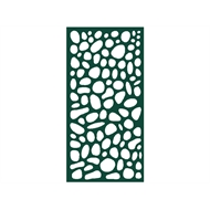 Protector Aluminium 1200 x 2400mm ACP Riverstone Decorative Panel Unframed - Dark Green