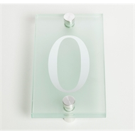 Sandleford 80mm 0 Glass Numeral