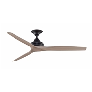 Crestwind Black Mustang Ceiling Fan  - White