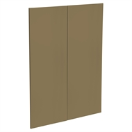 Kaboodle 900mm Golden Treacle Modern Medium Pantry Door - 2 Pack