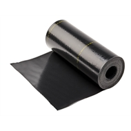 Deks 400mm x 4m Black Perform Roof Flashing