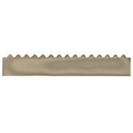 GumLeaf 1200mm Colorbond Metal Corrugated Gutter Guard - Dune