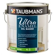 Taubmans Ultra Enamel 4L Neutral Semi Gloss Oil Based Enamel