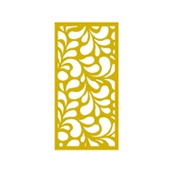 Protector Aluminium 600 x 900mm ACP Profile 17 Decorative Panel Unframed - Light Yellow