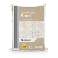 20kg Bag of White Washed Sand