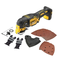 DeWALT 18V Brushless Cordless Oscillating Multi Tool - Skin Only With 29 Accessories