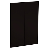 Kaboodle 900mm Peppercorn Glaze Modern Medium Pantry Doors - 2 Pack