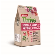 Yates Thrive 1.5kg Natural Roses and Flowers Organic Based Pelletised Plant Food