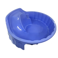 Fountain Products 1150 x 1150 x 380mm Sandpit with Slide