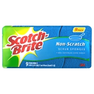 Scotch-Brite 220 x 80mm Non-Scratch Scrub Sponges - 9 Pack