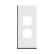 HPM LINEA 2 Gang Architrave Coverplate