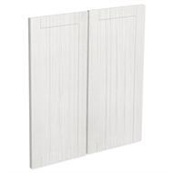 Kaboodle White Forest Country Corner Base Cabinet Door - 2 Pack