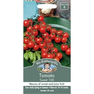 Mr Fothergill's Sweet 100 Tomato Vegetable Seeds