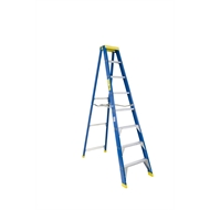 Bailey 2.4m 150kg Fibreglass Industrial Single Sided Stepladder
