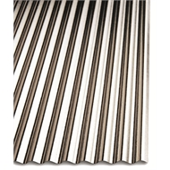 Metal Mate 2100 x 634mm Mini Ripple Iron Sheet Cladding