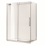 Rick McLean's Designer Bathware 1170 x 870 x 2000mm Euro Frameless Sliding Screen Shower