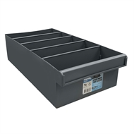 Handy Storage Medium Grey Spare Parts Tray