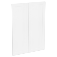Kaboodle 900mm Vanilla Essence Alpine Medium Pantry Door - 2 Pack