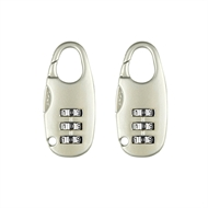 Pinnacle Combination Luggage Lock - 2 Pack