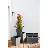 Tuscan Path 43 x 44cm Savannah Small Planter Grey