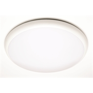 Brilliant 18W White LED Disque Oyster Ceiling Light