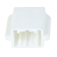 Flexi Storage White Bracket Nose End Cover