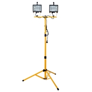 Arlec 1000W Halogen Worklight With Tripod