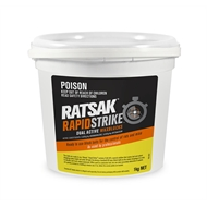RATSAK® Rapid Strike™ 1kg Dual Active Wax Blocks