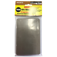 Macsim 150 x 100 x 1mm Brown Shim - 8 Pack