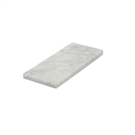 Decor8 75 x 150mm Bianco Carrara Honed Marble Wall Tile - 40 Pack